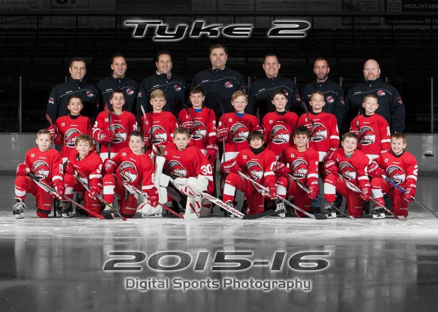 Tyke 2 Falcons Fun Tournie in Alliston!